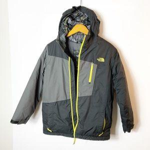 Northface winter jacket boys L